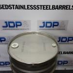40 gallon stainless steel drum